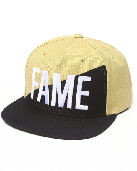Hall Of Fame Ewing Split Snapback Cap Black