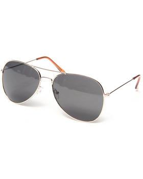 "Basic Essentials - ""Gold"" Aviator Sunglasses"