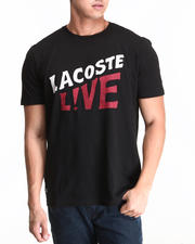 Lacoste Live - L!Ve S/S Lacoste Live Graphic Tee