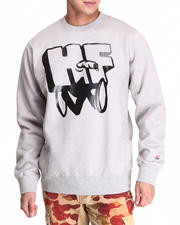 Hall of Fame - Hit & Run Crewneck Fleece Sweatshirt