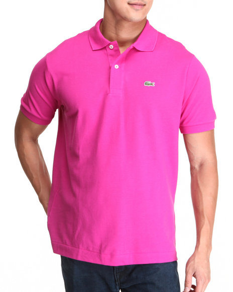 Lacoste Pink S/S Classic Pique Polo