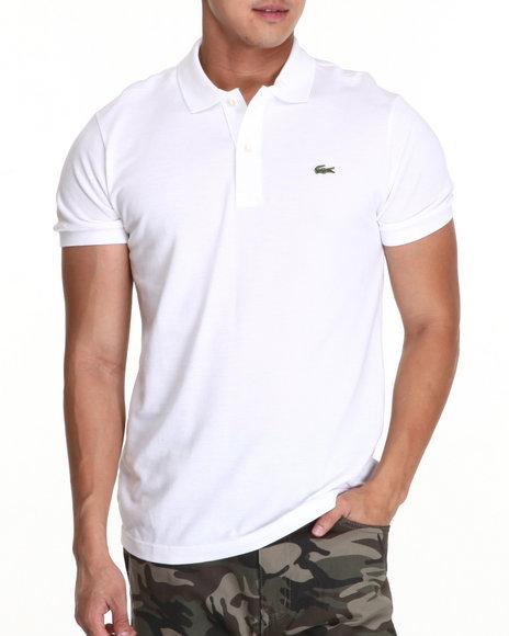 Lacoste - Men White S/S Classic Pique Polo