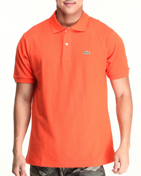 Lacoste - Men Orange S/S Classic Pique Polo