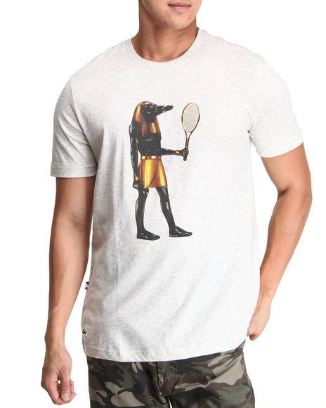 Lacoste Live - Men Grey L!Ve S/S Croc God Graphic Tee