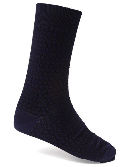 Lacoste All Over Print L Socks Dark Blue