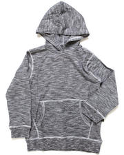 Hoodies - SLUB JERSEY HOODED PULLOVER TOP (4-7)