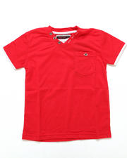 Black Friday Shop - Boys - V-NECK POCKET TEE (4-7)