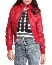 Outerwear - Leather Jacket