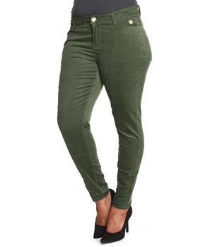 Apple Bottoms - Skinny Corduroy Jean (Plus)