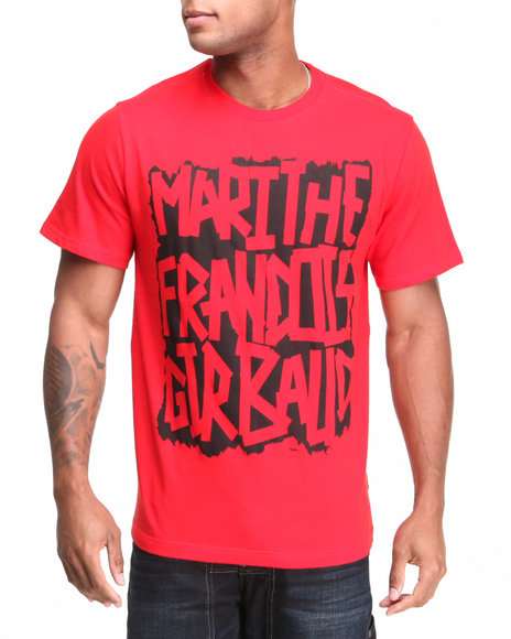 Girbaud Red Stencil T-Shirt