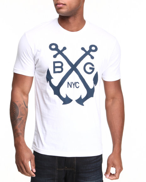B.GOLD NYC White B. Gold Cruise Control S/S Tee