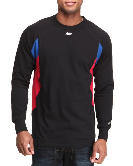 Hall of Fame Black A#1 Performance L/S Shirt