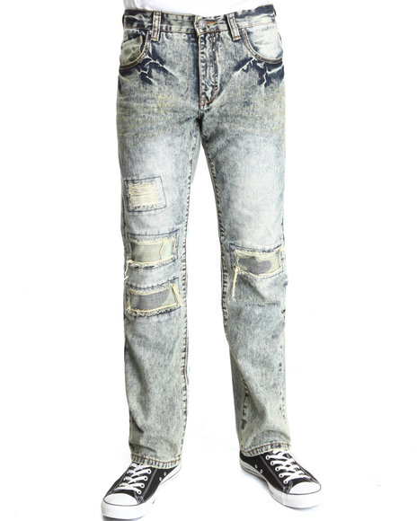 Heritage America Vintage Wash Rock Out Brother Denim Jeans