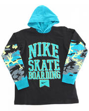Hoodies - Nike Skateboarding Hooded Twofer (8-20)