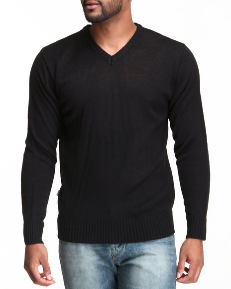 Basic Essentials Black Sweaters