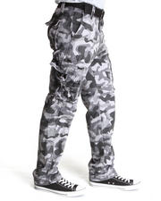 Men - Allover Camouflage Cargo Pants