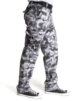 MO7 - Allover Camouflage Cargo Pants