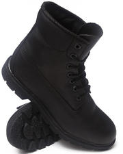 "Timberland - BLACK SMOOTH 6"" BASIC BOOTS"
