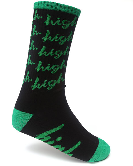 Odd Future Apparel Jasper Dolphin Socks Black