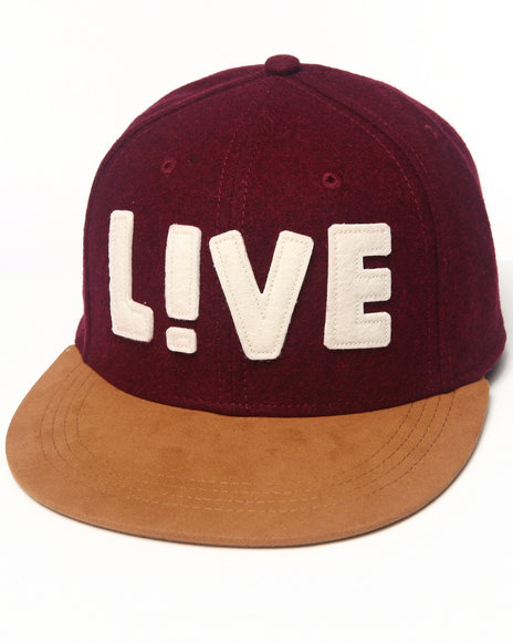 Lacoste Live L!Ve Wool Flannel Cap Red