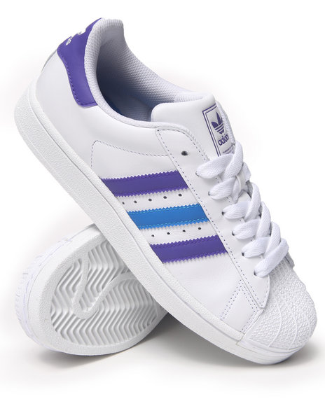 Adidas Blue,White Superstar 2 Sneakers