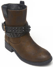 Footwear - Travis Ankle Bootie with stud detail straps