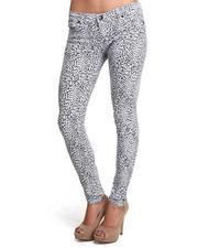 Jeans - Jungle Walk Leopard Printed Skinny Jean