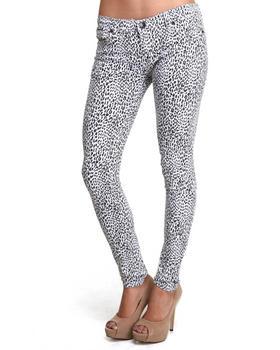 Fashion Lab - Jungle Walk Leopard Printed Skinny Jean