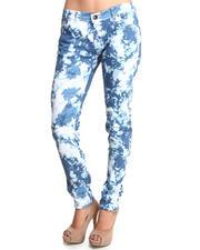 Jeans - Tye Dye Skinny Jean Pants
