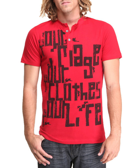 A Tiziano Red Ryan T-Shirt