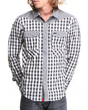 A Tiziano - Michael L/S Button-Down