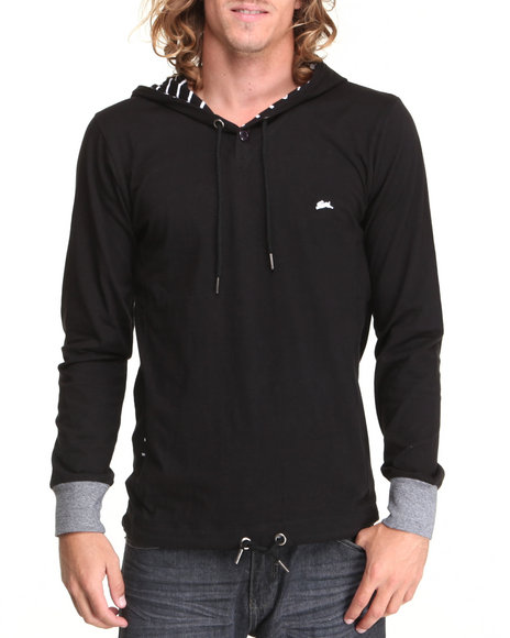A Tiziano Black Clater Hoodie