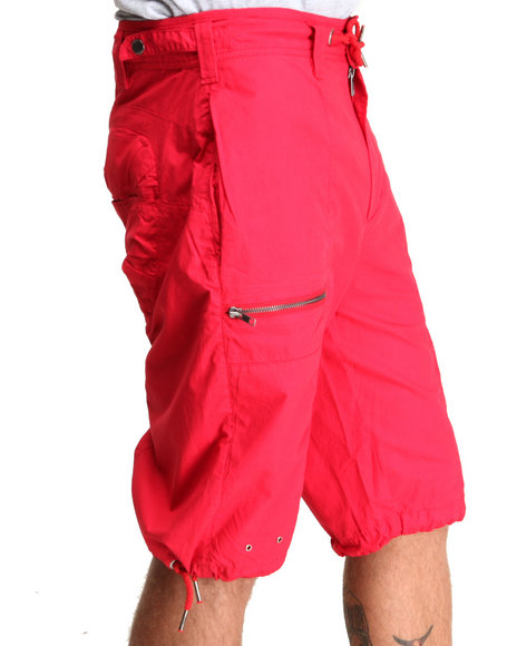 A Tiziano Red Jimi Cargo Short