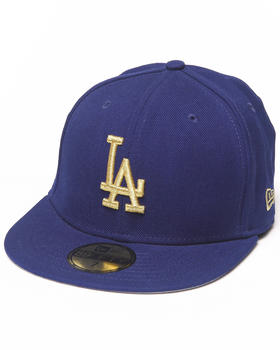 New Era - Los Angeles Dodgers 59th Anniversary Side Patch 5950 fitted Hat