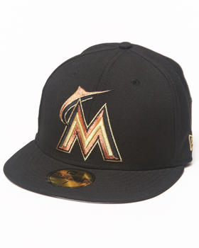 New Era - Miami Marlins 59th Anniversary Side Patch 5950 fitted Hat