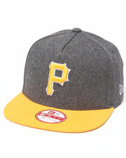 New Era - Pittsburgh Pirates Classic Melton Strapback Hat (A-Frame)