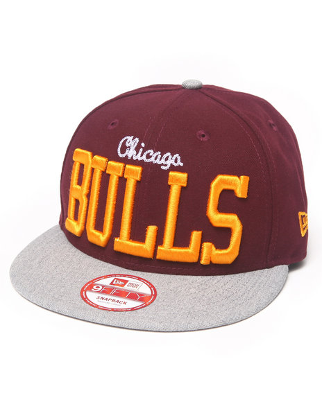 New Era - Chicago Bulls NE V-Team Snapback hat