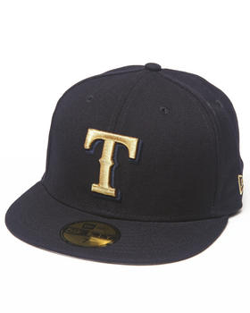 New Era - Texas Rangers 59th Anniversary Side Patch 5950 fitted Hat