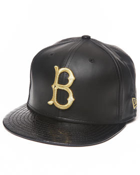 New Era - Brooklyn Dodgers 59th Anniversary of 5950 fitted Hat (Geniune leather/Faux Crocodile)