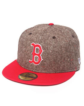 New Era - Boston Red Sox Tweed Crest 5950 fitted hat