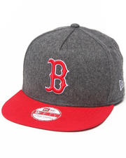 NBA, MLB, NFL Gear - Boston Red Sox Classic Melton Snapback Hat (A-Frame)