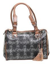 Bags - Grace Satchel Handbag w/coogi script print