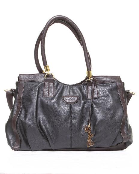 Coogi Mavis Grainy Tote Handbag Black