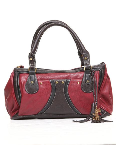 Coogi Amanda Satchel Handbag Red