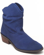 Footwear - Smoking Hot Real Suede Bootie