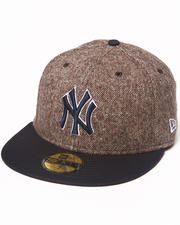 Men - New York Yankees Tweed Crest 5950 fitted hat