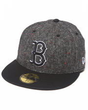 New Era - Brooklyn Dodgers Tweed Crest 5950 fitted hat