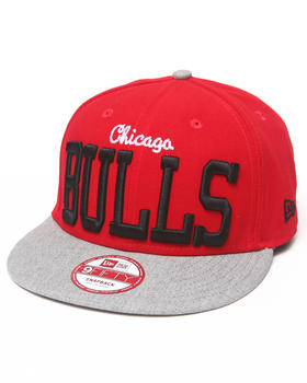 New Era - Chicago Bulls NE V-Team Snapback hat