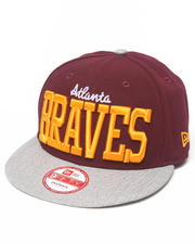 New Era - Atlanta Braves NE V-Team Snapback hat
