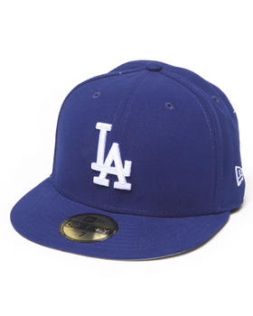 New Era - Los Angeles Dodgers Team Patch 5950 fitted hat